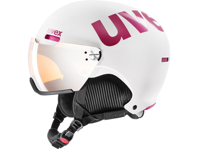 UVEX hlmt 500 Visor Kypärä, white-pink mat